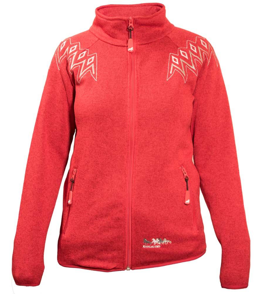 27fe9281 Reykur Fleece rød - trøjen du aldrig vil have af igen! - TackShop.dk