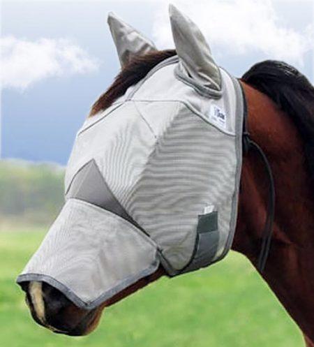 Cashel Fluemaske med ører og mule flap
