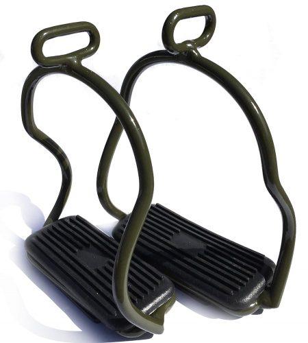 Stigbøjler - armygrøn