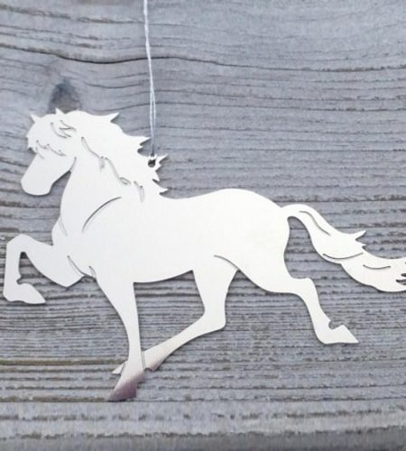 Islandsk hest dekoration