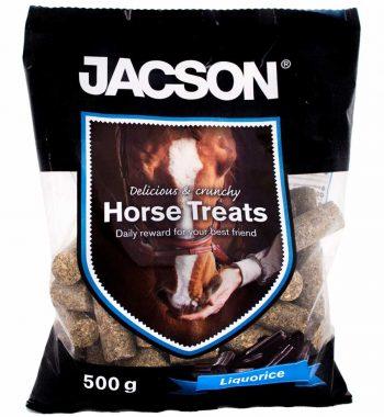 Hestebolcher med lakridssmag 500 g