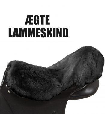 Lammeskinds sadelovertræk - numsevarmer
